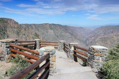 Black Canyon of the Gunnison Royalty Free Stock Photos