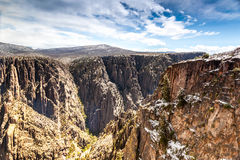 Black Canyon of the Gunnison National Park Stock Photography