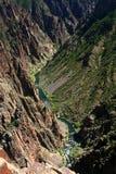 Black Canyon Gunnison River Stock Photography