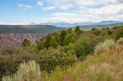 Black Canyon of the Gunnison Stock Image