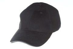 Black cap. Isolated on white background Stock Photography