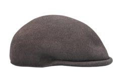 Black cap over white Stock Photo
