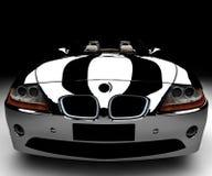 black car Иллюстрация штока