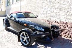 Black car Royalty Free Stock Images