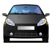 Black Car royalty free illustration