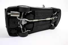 Black car. Royalty Free Stock Image