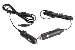 Black car adapter Royalty Free Stock Photo