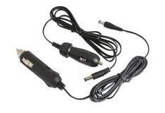 Black car adapter Stock Photo
