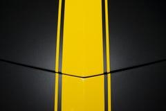 Black car bodywork Royalty Free Stock Photo