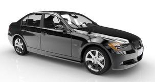 Black car Stock Images