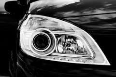 Black car light Royalty Free Stock Photography