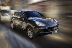 Black car. Stock Image
