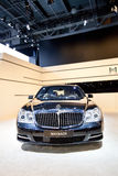 Black car Maybach Royalty Free Stock Images