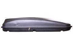 Black car trunk stock image