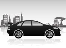 Black car. Stock Photos