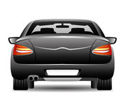 Black car. Royalty Free Stock Photos