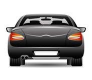 Black car. Royalty Free Stock Photos
