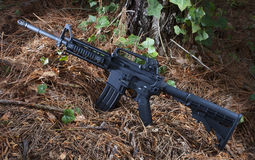 Black carbine Stock Photography