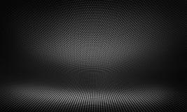 Black carbon fiber textured material design. Abstract modern black carbon fiber material design for background, wallpaper, graphic design. Kevlar textured studio royalty free illustration