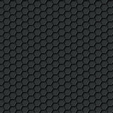 Black carbon seamless pattern Stock Photos