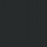 Black carbon seamless pattern Royalty Free Stock Photo
