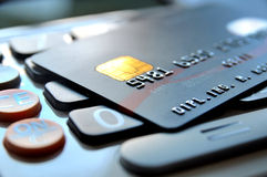 Black Card Stock Photos