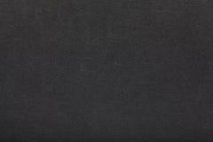 Black cardboard. Black design cardboard background, detailed texture Royalty Free Stock Photos