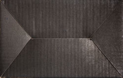 Black cardboard background Royalty Free Stock Image