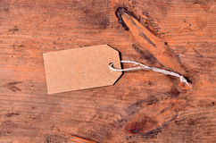Black Cardboard paper old wooden Stock Image