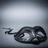 Black carnival mask Royalty Free Stock Images