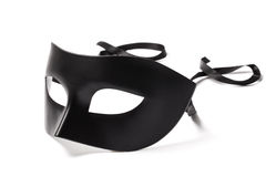 Black Carnival Mask Stock Image