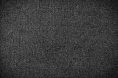 Black carpet or Black woolen fabric texture background. royalty free stock images