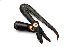 Black Carrot, scortzonera Royalty Free Stock Image