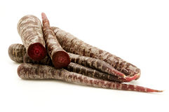 Black carrots Stock Image