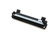Black cartridge for laser printer Royalty Free Stock Images