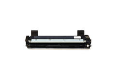 Black cartridge for laser printer Royalty Free Stock Photography
