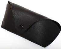Black case for glasses Stock Photo