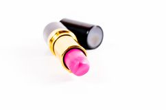 Black case of lipstick Royalty Free Stock Photography
