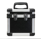 Black case/toolbox Stock Images