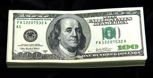 Black cash Stock Photography