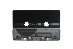 Black cassette Stock Images