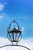 Black cast iron lamp Royalty Free Stock Photos