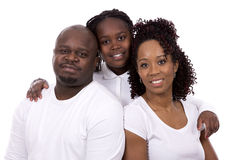 Black casual family Stock Images