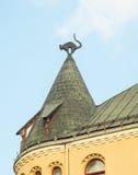 Black Cat House, Riga, Latvia Stock Image