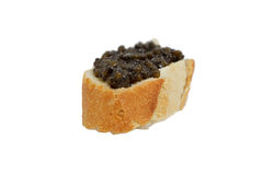 Black caviar royalty free stock image