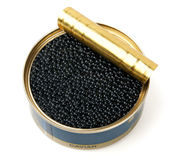 Black caviar Stock Image