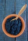 Black caviar Stock Image