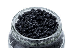 The black caviar Royalty Free Stock Photos