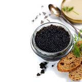 Black caviar Stock Photography