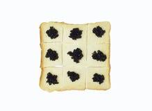 Black caviar Royalty Free Stock Photography